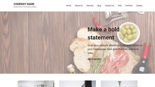 Mins Deli Restaurant WordPress Theme