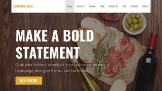 Stout Deli Restaurant WordPress Theme