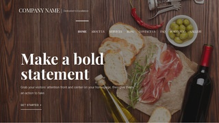 Velux Deli Restaurant WordPress Theme