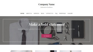 Uptown Style Department Stores WordPress Theme