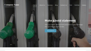 Lyrical Diesel Fuel Supplier WordPress Theme