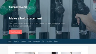 Primer Diesel Fuel Supplier WordPress Theme