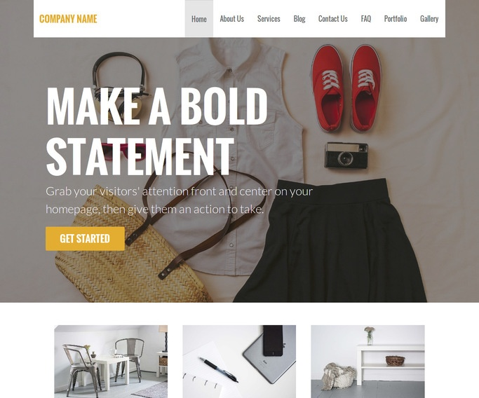 Stout Discount Store WordPress Theme