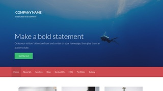 Activation Scuba and Free Diving WordPress Theme