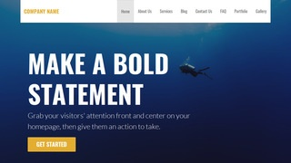 Stout Scuba and Free Diving WordPress Theme
