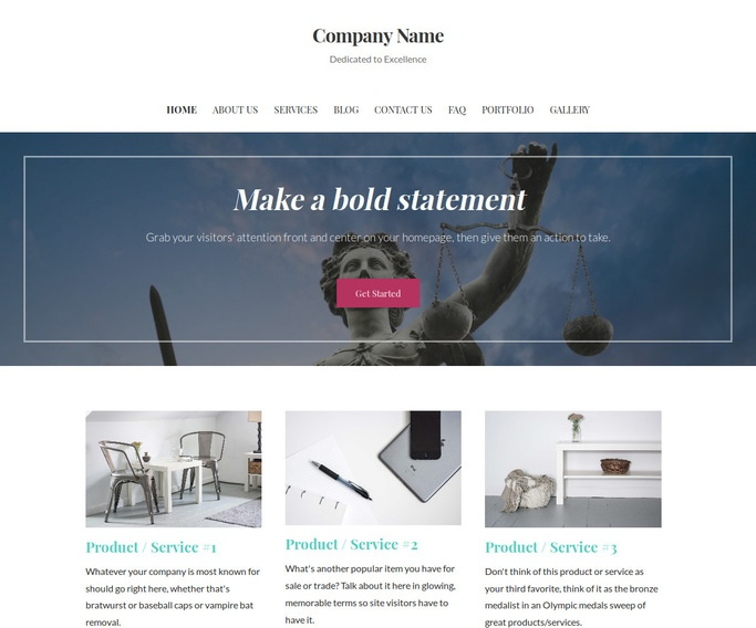 Uptown Style Divorce and Family Law WordPress Theme