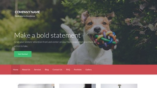 Activation Dog Day Care WordPress Theme