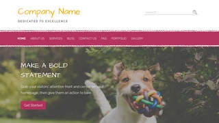 Scribbles Dog Day Care WordPress Theme