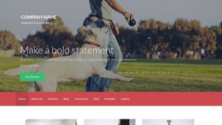 Activation Dog Trainer WordPress Theme