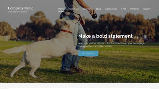 Lyrical Dog Trainer WordPress Theme