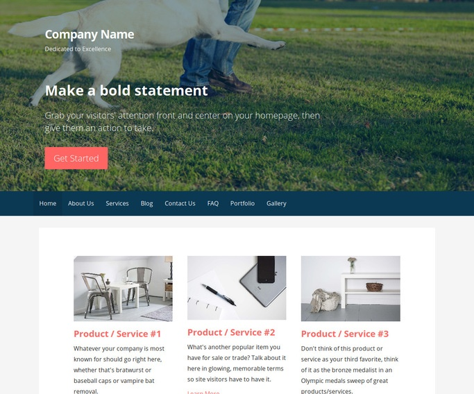 Primer Dog Trainer WordPress Theme