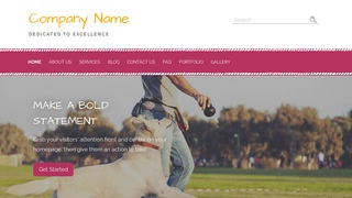 Scribbles Dog Trainer WordPress Theme