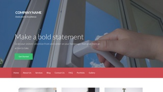 Activation Door Repair and Installation WordPress Theme
