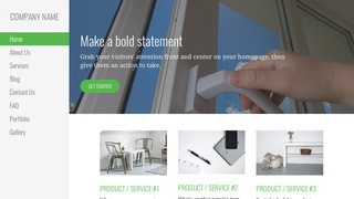 Escapade Door Repair and Installation WordPress Theme