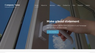 Lyrical Door Repair and Installation WordPress Theme