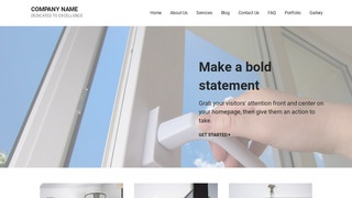 Mins Door Repair and Installation WordPress Theme