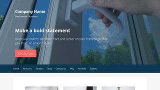 Primer Door Repair and Installation WordPress Theme