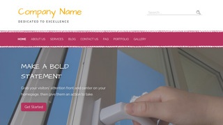 Scribbles Door Repair and Installation WordPress Theme