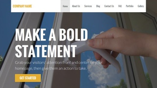 Stout Door Repair and Installation WordPress Theme