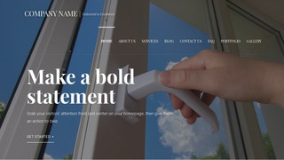 Velux Door Repair and Installation WordPress Theme