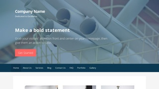 Primer Drafting Equipment WordPress Theme