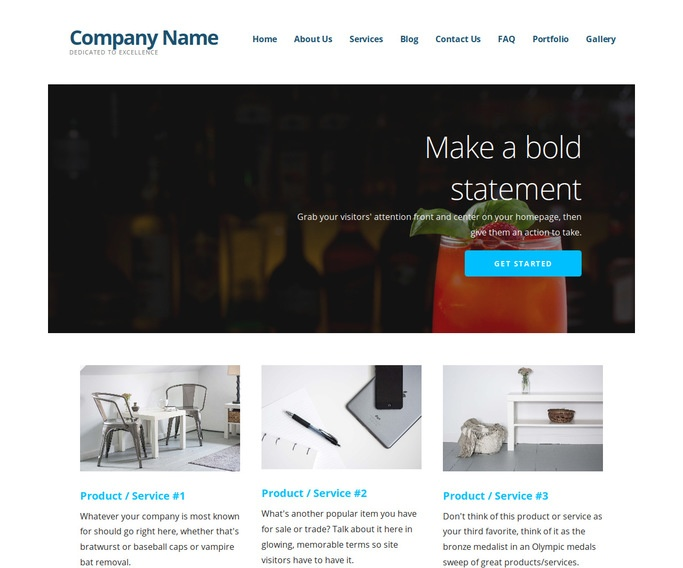 Ascension Drinks and Beverages WordPress Theme
