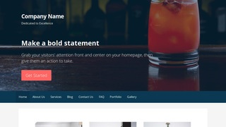 Primer Drinks and Beverages WordPress Theme
