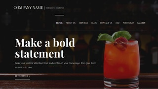 Velux Drinks and Beverages WordPress Theme