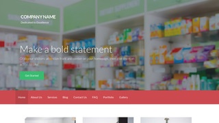 Activation Drugstore WordPress Theme