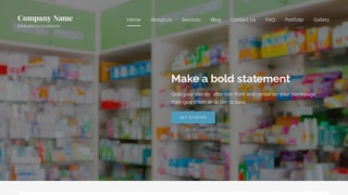 Lyrical Drugstore WordPress Theme