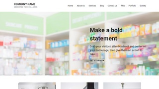 Mins Drugstore WordPress Theme