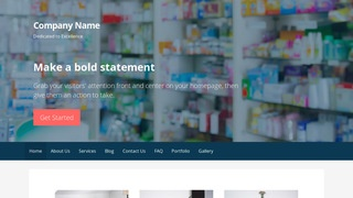 Primer Drugstore WordPress Theme