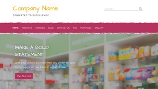 Scribbles Drugstore WordPress Theme