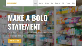 Stout Drugstore WordPress Theme