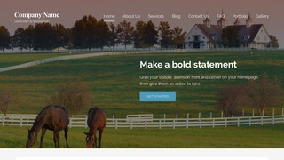 Lyrical Dude Ranch WordPress Theme