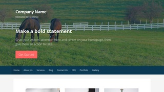 Primer Dude Ranch WordPress Theme