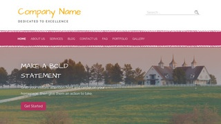 Scribbles Dude Ranch WordPress Theme