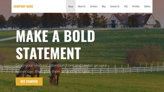 Stout Dude Ranch WordPress Theme