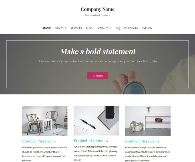 Uptown Style Ear, Nose and Throat WordPress Theme