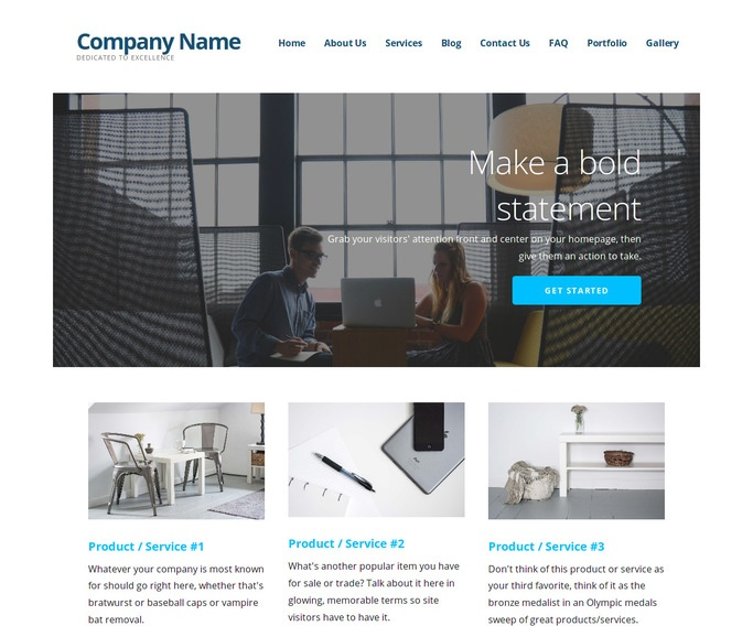 Ascension Educational Consultant WordPress Theme