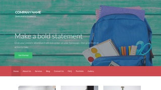 Activation Educational Service WordPress Theme