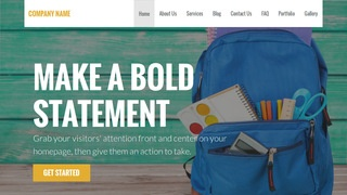 Stout Educational Service WordPress Theme