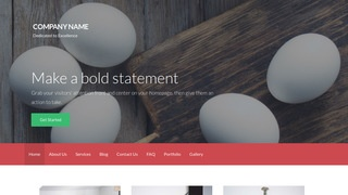 Activation Egg Supplier WordPress Theme