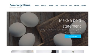 Ascension Egg Supplier WordPress Theme