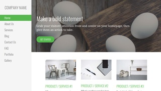 Escapade Egg Supplier WordPress Theme