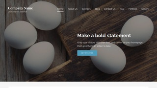 Lyrical Egg Supplier WordPress Theme