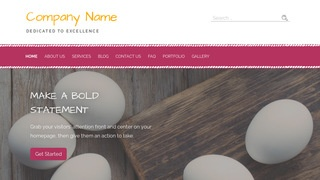 Scribbles Egg Supplier WordPress Theme