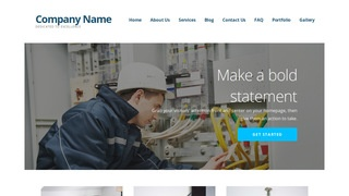 Ascension Electrical Engineer WordPress Theme