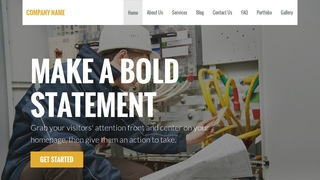 Stout Electrical Engineer WordPress Theme
