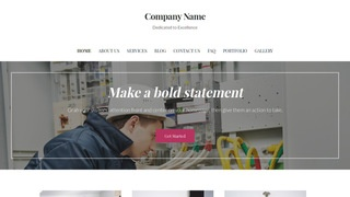 Uptown Style Electrical Engineer WordPress Theme